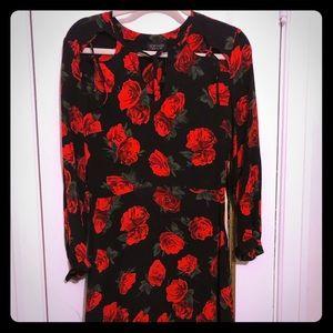 TopShop midi dress size 4
